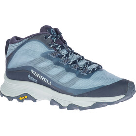 Merrell Moab Speed Mid GTX Shoes Women, navy